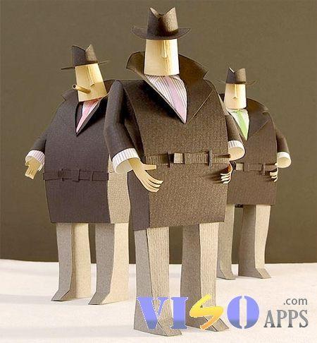 將平凡 變成 不平凡 -> 紙也能做出 3D 立體公仔!