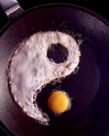你能把雞蛋煎成這樣嗎?
