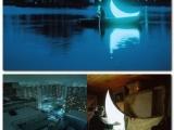 LED的巨型彎月:有了這個,包公額頭也能發亮