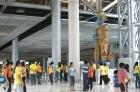 曼谷機場十二惡魔鬼雕像邪門,官方決定移走