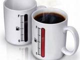 溫度計杯子