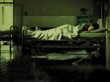 一個護士在醫院,無意間拍到的照片