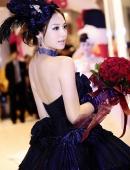 國内知名模特白欽惠婚紗攝影