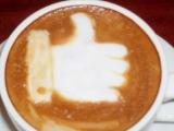 一杯超讚的咖啡,很窩心,有你們真好!