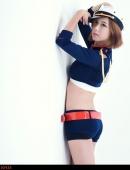 韓國人氣女模尹惠熙制服寫真