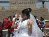 最環保新娘 文胸婚紗均用塑料做