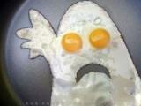 據說煎蛋也是一門藝術,不信?你也煎個如圖所示的蛋給姐瞧一下!