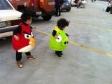 最新角色扮演 Angry Bird 真實版!! 有玩過的都知道~ XDD