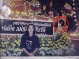 泰國靈堂的怪頭