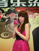 中國音樂流行榜頒獎典禮08~09内地最佳新人獎 劉菲