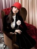 優雅氣質時裝美女模特