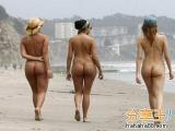 智利天體海灘赤男裸女「坦誠」貼近大自然!