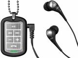 軍牌式造型的 MP3 播放器
