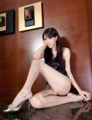 肉絲襪美女腿模緊身迷人熱褲
