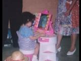 小女孩的玩具鏡