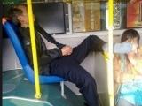 公車上遇到不講文明的大叔
