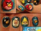 指甲也要有Angry Birds