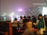 日本遊客在上海黄浦江拍到鬼魂