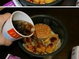 用電飯煲煮快餐。。。