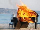 音樂家 火爆演出...