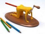 搞笑削鉛筆機