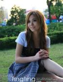 亭亭玉立的美麗少女