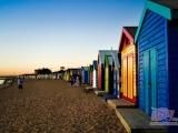英格蘭布萊頓 海灘彩虹衝洗房