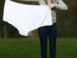 好大!世界最大內褲亮相 15個XL