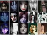 很多個女鬼照片