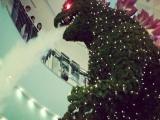 哥斯拉聖誕樹