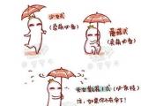 拿雨傘的藝術 ==