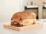 今天早上有麵包了,咦?這是。。。