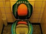 這樣的坐廁你敢坐嗎?