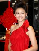 大S晚裝紅色禮服寫真圖片