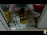 早產被當死胎裝袋扔廁所 男嬰險死