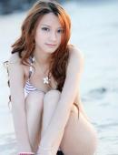 浪漫海灘の美女小菲