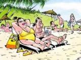 和妻子去沙灘的後果..