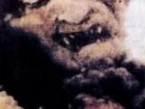 邪教集體自焚時上空所拍到的鬼臉