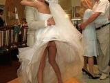 讓人噴飯的婚禮走光