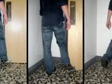 終於可以用腳來開廁所門了