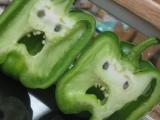 晚飯有青椒!!太可怕了..... 難道都不知道青椒的真面目嗎!!!