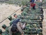 中國大陸洪水救災的情形