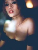 性感豹紋内衣極品大胸美少婦寫真