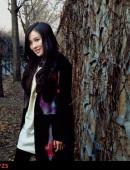 葉璇全新寫真 知性美女尋找春的氣息