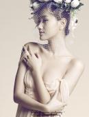 女星趙子惠性感露肩寫真