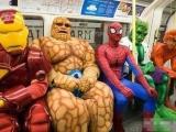 今天坐地下鐵看到四大大俠