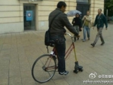 修好的自行車