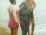在沙灘上遇見了外星人