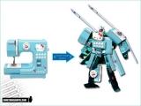 變形金剛 (Hello Kitty, GameBoy, 專業單鏡反光相機...)