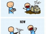 時代的變遷~~收到信紙還比較開心!!